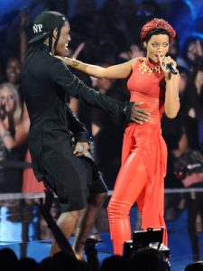 Rihanna and A$AP